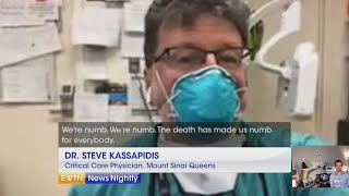 New York an epicenter of coronavirus, death toll rises - EWTN News Nightly