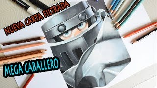 Cómo DIBUJO al MEGA CABALLERO de CLASH ROYALE | How to DRAW MEGA KNIGHT | Draw Up!