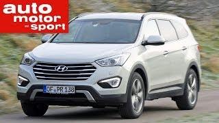Fahrbericht Hyundai Grand Santa Fe