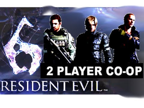 ★Resident Evil 6 Split Screen 2 Player CO-OP (Complete Demo) HD