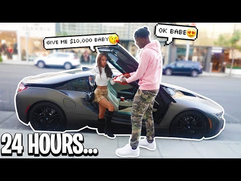 I Gave a GOLD DIGGER FAKE MONEY For 24 HOURS! SHE THOUGHT I WAS DUMB! EXPERIMENT
