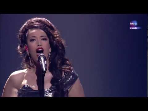 Eurovision 2012 HD - 10 (Italia/Italy) Nina Zilli - L'Amore è Femmina (Out of love)