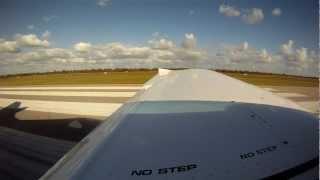 Flying VH-EZT - University Flying Club - 2011 PiperSport - Jandakot, Perth, Bunbury, Rottnest, V65 thumbnail
