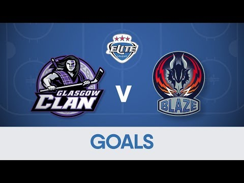 Goals: Glasgow Clan 6-8 Coventry Blaze
