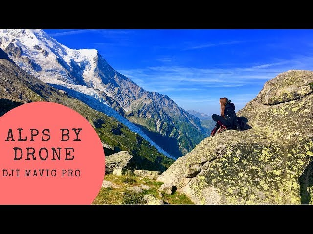 Alps by Drone - Family travels Europe in a motorhome - DJI Mavic Pro - Wandering Bird Adventures