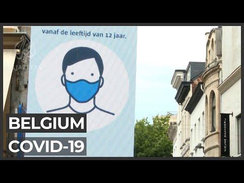 Belgium fights COVID-19