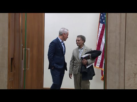 Mayor-elect Lightfoot Has `cordial, Productive` Meeting With Emanuel