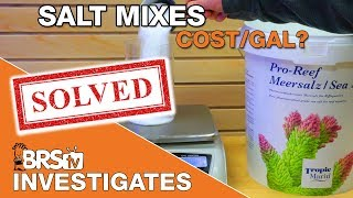 How much does your salt mix REALLY cost? | BRStv Investigates