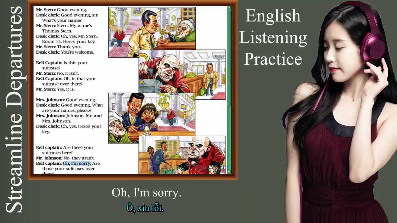 80 Bài hội thoại luyện nghe tiếng anh song ngữ anh việt- Giáo trình streamline english