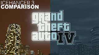 GTA IV ICENHANCER 3.0 Comparison, and Gameplay [1080p]