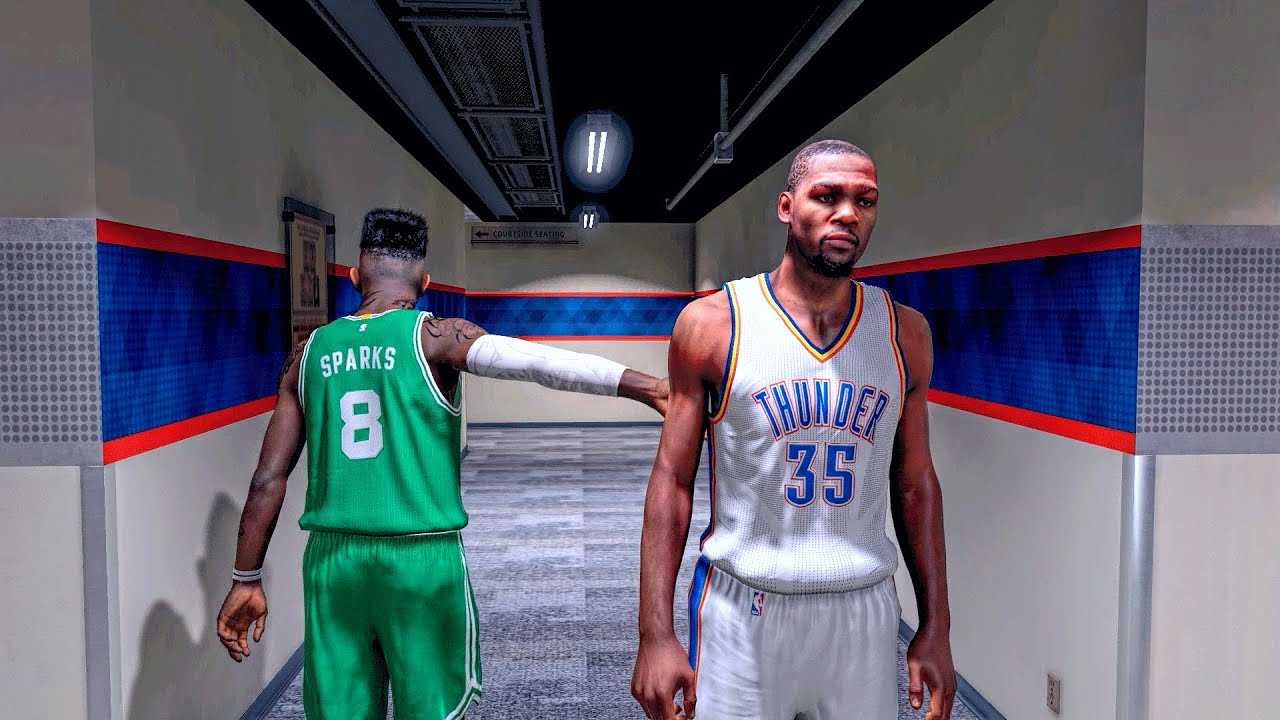 NBA 2k15 MyCareer | ITS OK KD MAYBE WHEN I RETIRE - YouTube