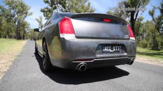 2016 Chrysler 300 SRT (8spd) 0-100km/h, 1/4 mile & engine sound