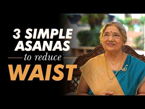 3 Simple Asanas to reduce Waist   Yoga Guru Hansaji