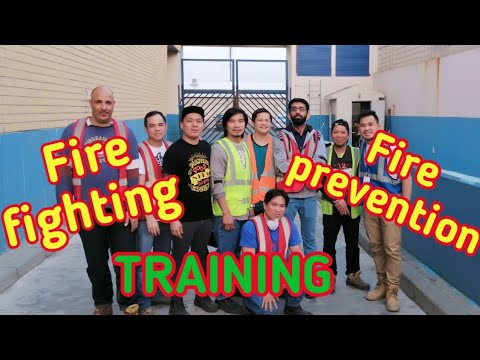 Fire Fighting Training,How To Use Fire Extinguisher.