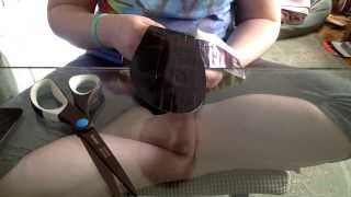 How To Make: Duck Tape Pointe  Shoes