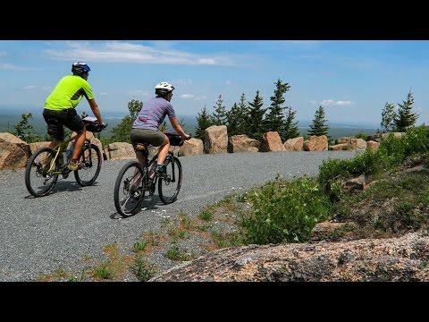 Biking in Acadia National Park : Travel Vlog