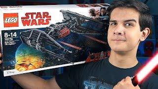 LEGO Звёздные Войны - КОРАБЛЬ КАЙЛО РЕНА - Набор На Обзор (75179)