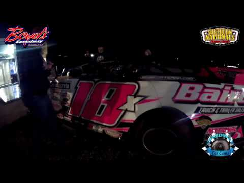 #18X Michael Page - Super Late Model - 3-18-17 Boyd's Speedway - Dirt In-Car Camera