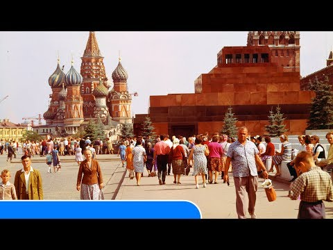 Red Square in Moscow and the Kremlin in Russia - Historical Old Photos