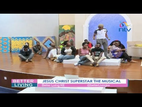 The cast of Jesus Christ Superstar the musical on a career in Kenyan theatre