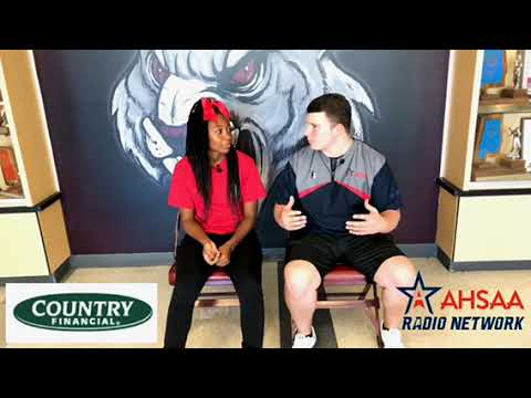 Timira Lawson from Benjamin Russell High School sits down with the AHSAA Radio Network