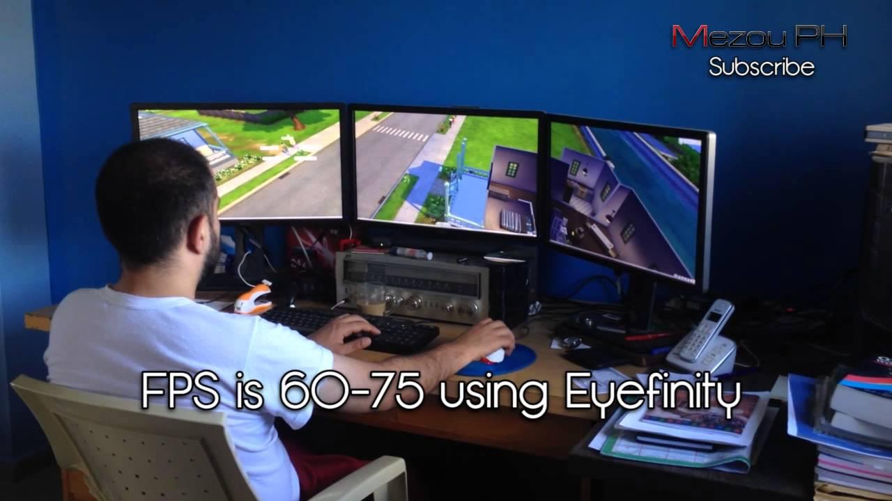 Cockpit Hd Wallpaper Sims 4 Eyefinity Res 5760x1080 Radeon Hd 7950 Youtube