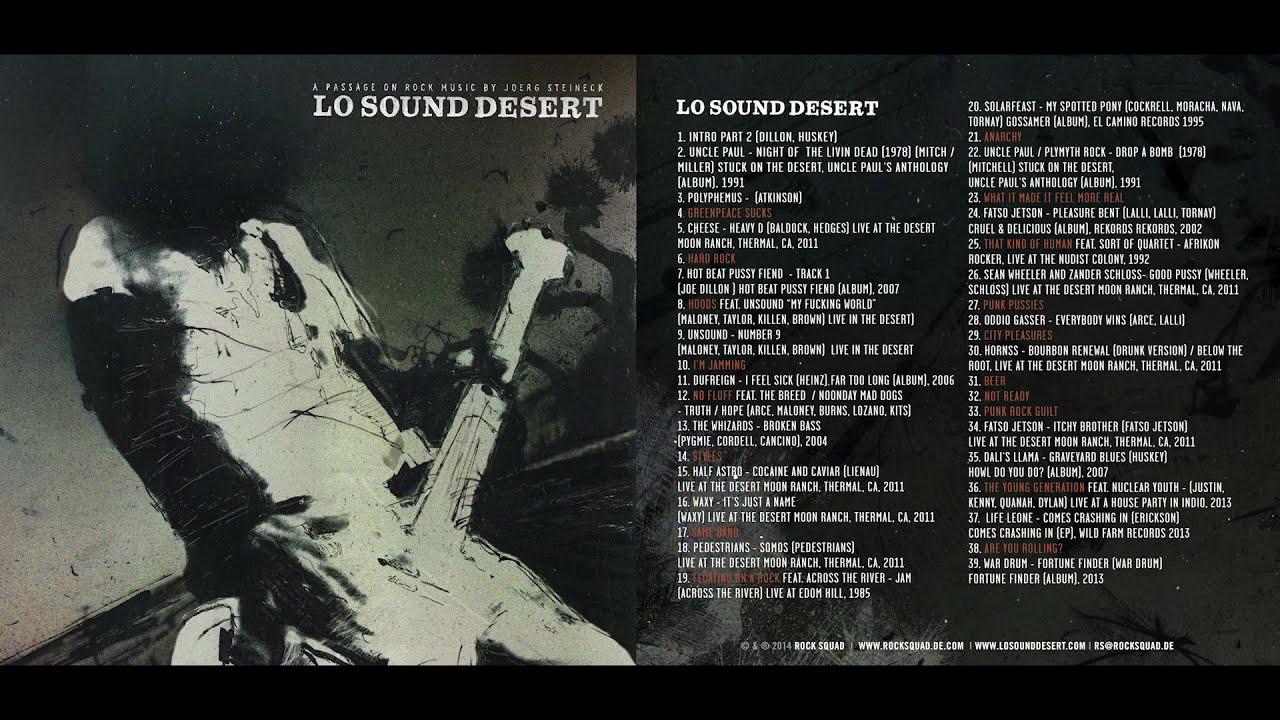 Lo Sound Desert Desert Rock Documentary Original Soundtrack Youtube