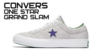 Обзор кроссовок Converse One Star Grand Slam
