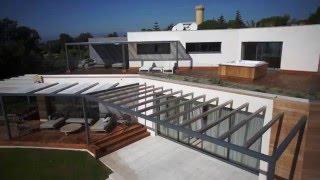 Une villa de luxe à CANNES, filmée à l'aide d'un drone