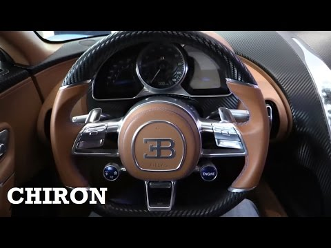 2017 Bugatti Chiron - interior Review