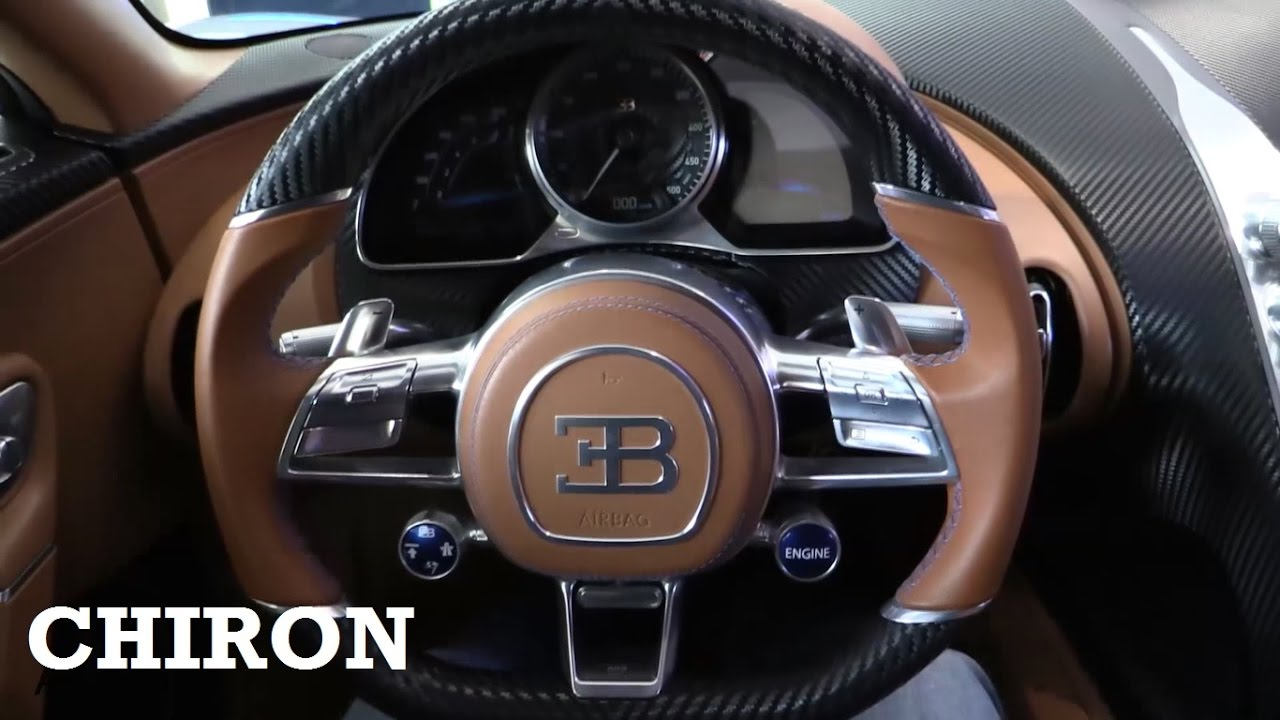2017 bugatti chiron interior review youtube. Black Bedroom Furniture Sets. Home Design Ideas
