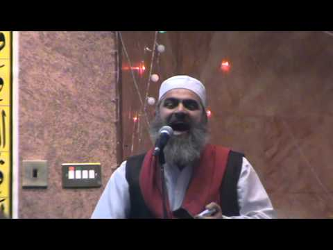 Naat in green gate masjid oldham UK 26 january 2015 3