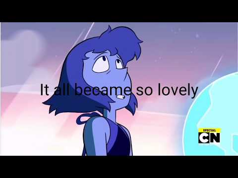 (HD)Steven Universe - That Distant Shore (Song) (Full song with lyrics) (Lapis' song)