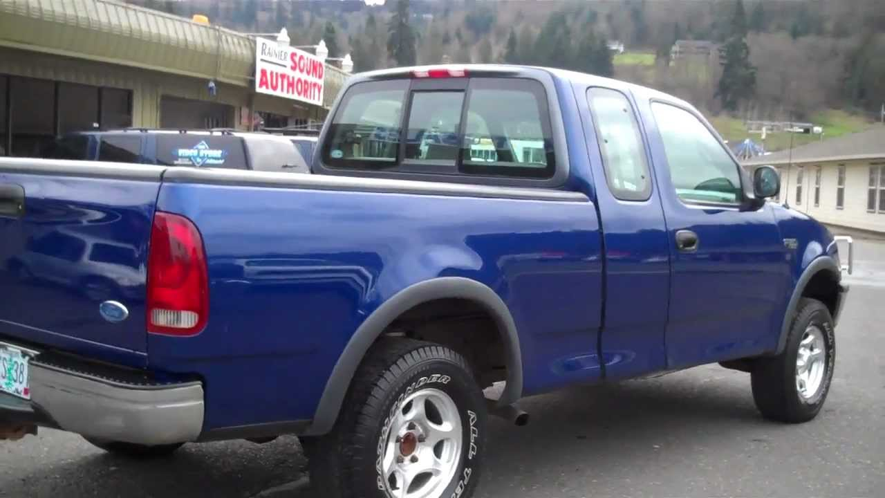 Ricks Auto Sales >> 1997 FORD F150 XL SUPERCAB 4X4 SOLD!!! - YouTube
