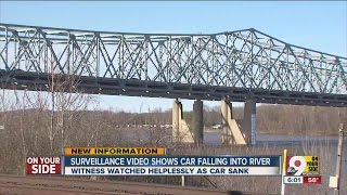 Video Witness watched helplessly as car falls off bridge download MP3, 3GP, MP4, WEBM, AVI, FLV Agustus 2018