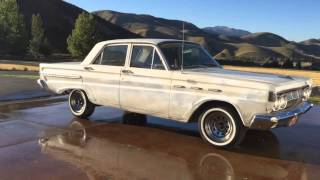1964 Mercury Comet - BARNFIND, ALL ORIGINAL Motor, Body Paint, Interior, AC, ZERO RUST!