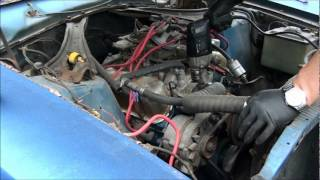 OLD START COLD START AFTER 14 YEARS ,HOW TO , 1974 MERCURY COMET GT !!!