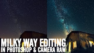 How to get Contrast & Colors on Milky Way shots (RAW included)