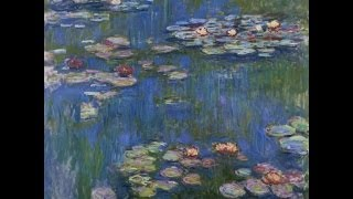 The Garden of Monet ART & MUSIC Bach WTC1 No. 6 in d minor BWV 851 by Marcell Horvath Thumbnail