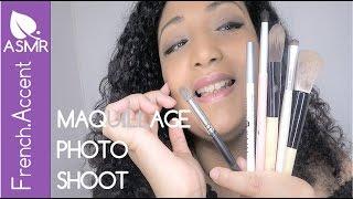 [ASMR français] Maquillage photoshoot professionnel de star ASMR Role play *mise de faux cils