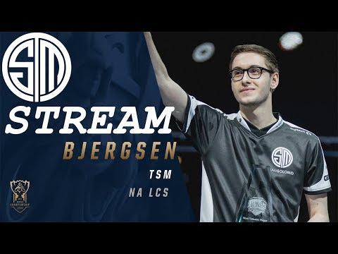 TSM Bjergsen Stream LOL - Slowly warming up for All stars 2017 :D