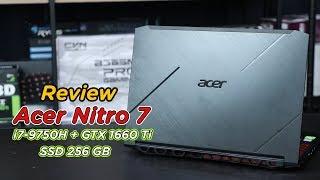 Review – Acer Nitro 7 Gaming Notebook พรีเมียมโลหะทั้งตัว สเปก Core i7-9750H + GTX 1660Ti + SSD/HDD
