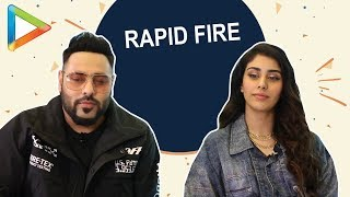 BLOCKBUSTER - Badshah & Warina Hussain's Rapid Fire is a Must Watch!