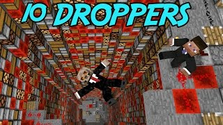 10 DROPPERS | MINECRAFT
