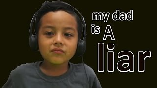 Indonesian Kids : React to  My Dad Is a Liar