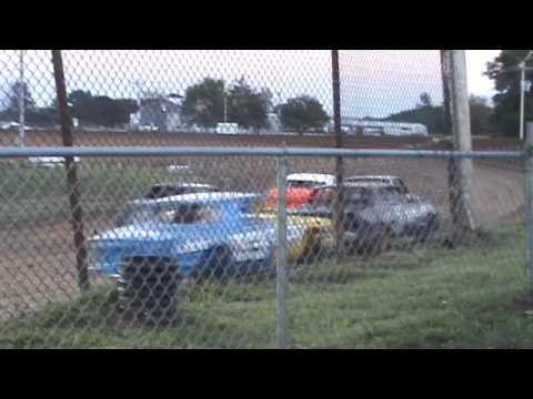 Pure Stock Heats  9 3 2016 Central Missouri Speedway