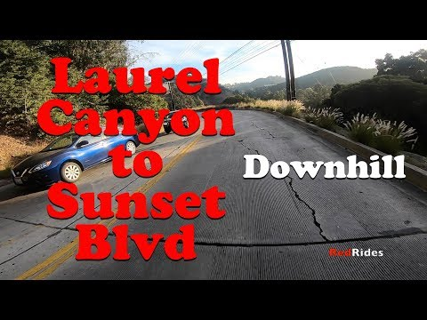 Bike Ride - Laurel Canyon Downhill