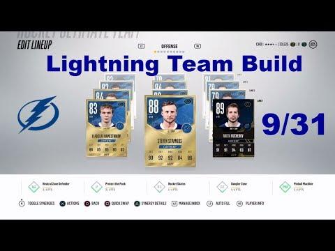 NHL 18 HUT - Tampa Bay Lightning Team Build