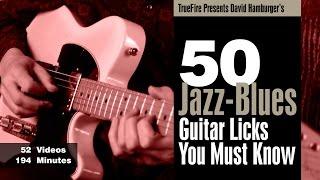 50 Jazz-blues Licks - Intro - David Hamburger