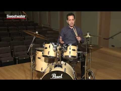 Pearl Vision Birch VBL 5-piece Drumkit Review By Sweetwater